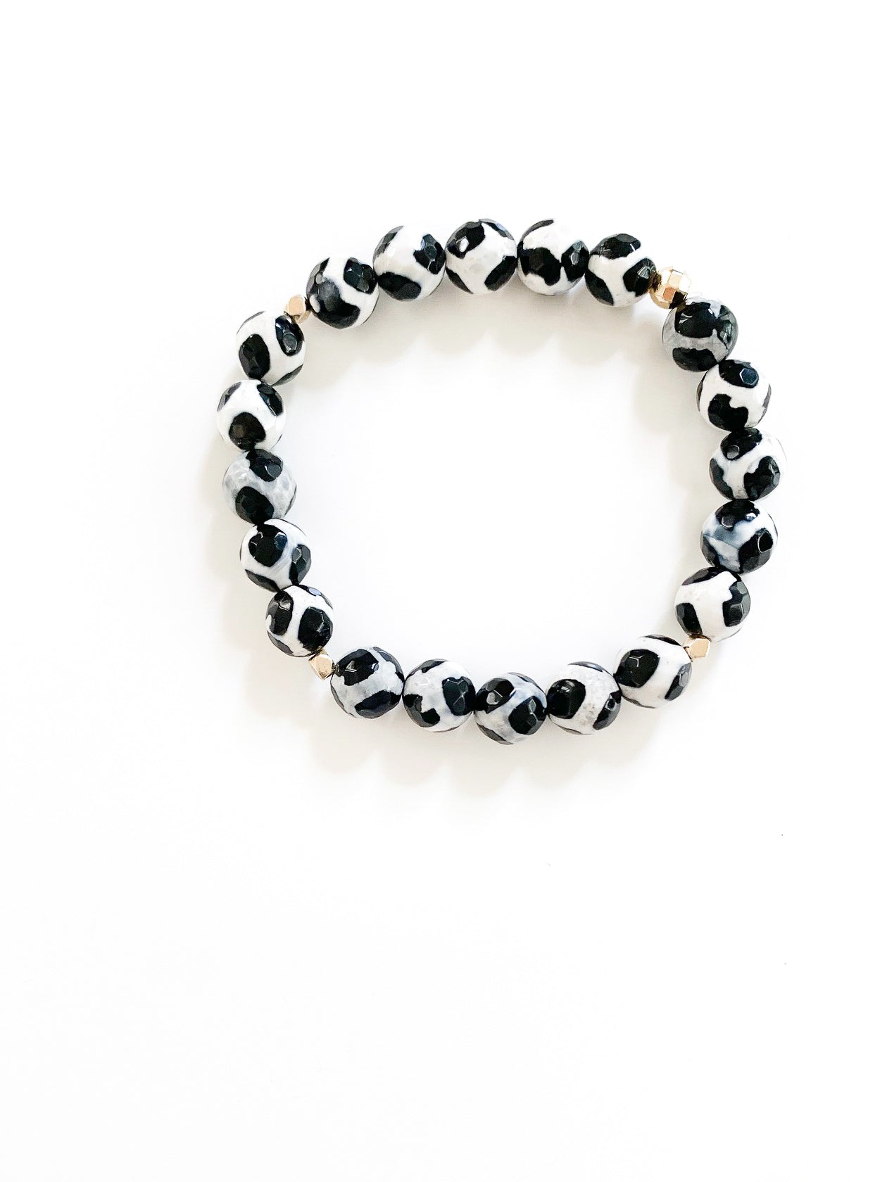 Black + White Tibetan Agate Collection