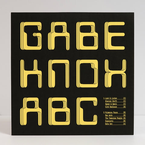 "Gabe Knox ""ABC"" (vinyl LP)"