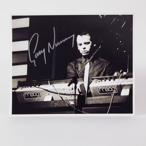 "Gary Numan (photo - signed 8""x10"")"