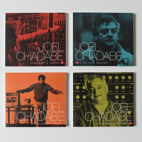 Joel Chadabe: collection (4x CD releases)