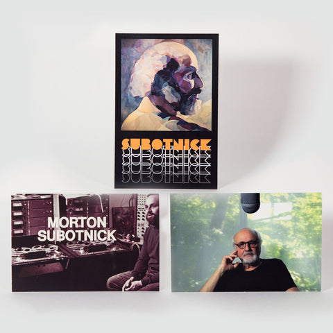 Morton Subotnick 3x postcard set