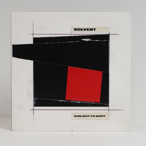 "Solvent ""Subject To Shift"" (vinyl 2xLP)"