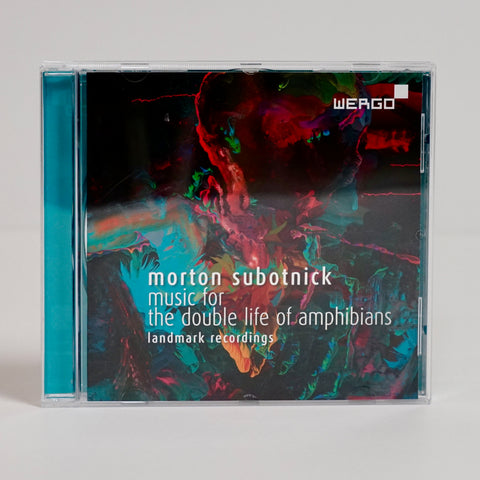 "Morton Subotnick ""Music For The Double Life Of Amphibians - Landmark Recordings"" (CD)"
