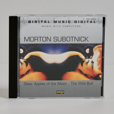 "Morton Subotnick ""Silver Apples... / The Wild Bull"" (CD)"