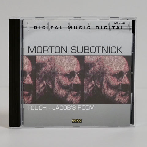 "Morton Subotnick ""Touch / Jacob's Room"" (CD)"