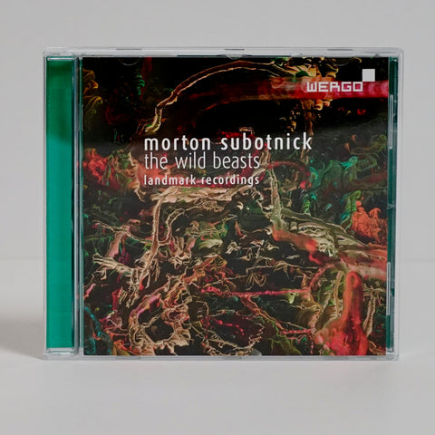 "Morton Subotnick ""The Wild Beasts - Landmark Recordings"" (CD)"