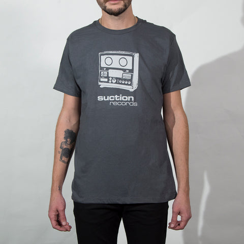 Suction Records (grey T-Shirt)
