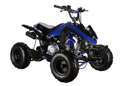 GMX THE BEAST 110CC SPORTS QUAD BIKE BLUE