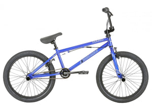 "HARO SHREDDER PRO DLX 20"" BMX BIKE METALLIC BLUE"