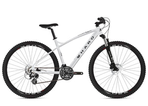 "2020 HARO DOUBLE PEAK 27.5"" TRAIL 20"" MTB BIKE BRIGHT POLISH"