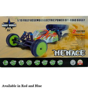 Hobby Works RC Menace 2wd Buggy 1/10 RTR