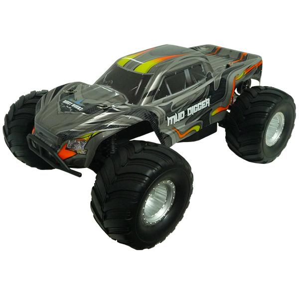Hobby Works RC Mud Digger 2wd Monster Truck 1/10 RTR