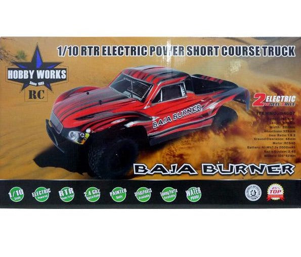 1/10 RTR Electric Power Short Course Truck 2WD