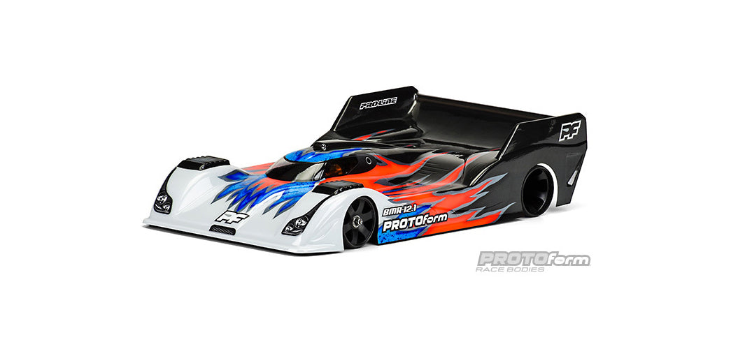 PROTOFORM BMR-12.1 REG WEIGHT 1-12TH SCALE CLEAR BODY - PR1616-30