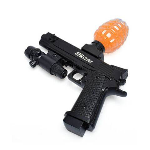 STD CS 009 1911 PISTOL WATER BULLET TOY