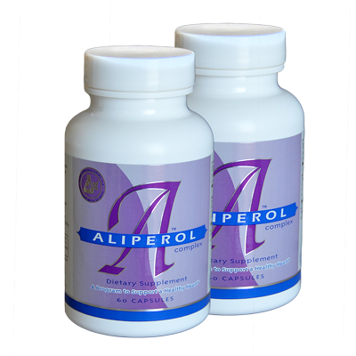 ALIPEROL - for Healthy Cholesterol Levels 60-day Supply (2 Bottles)