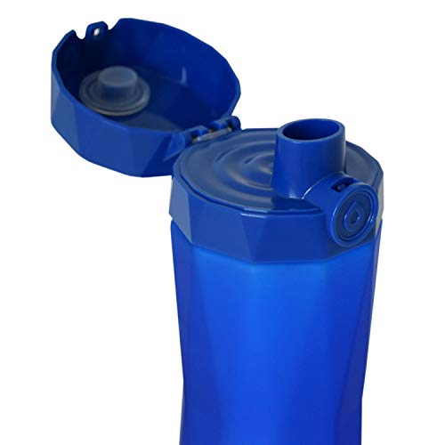 Hidrate Spark 2.0 Smart Water Bottle (Royal Blue) - Tracks Water Intake & Glows to Remind You to Stay Hydrated - BEAN Ultra