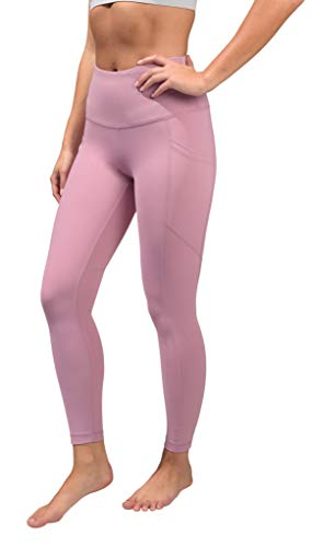 90 Degree By Reflex Womens Power Flex Yoga Pants - Lilac - Medium - BEAN Ultra
