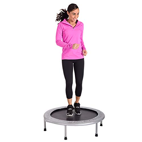 36-Inch Folding Trampoline | Quiet and Safe Bounce | Access To Free Online Workouts Included | Supports Up To 250 Pounds - BEAN Ultra