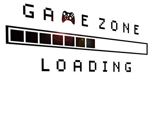 Game Zone Loading Gamer Kids Room Decor (45 in x 15 in) - BEAN Ultra