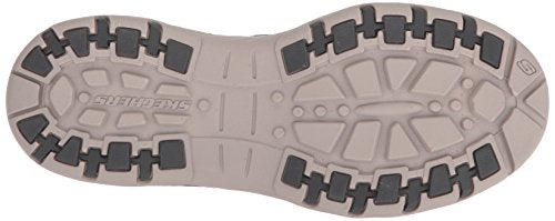 Skechers Men's Relaxed Fit-Creston-Moseco Moccasin, Charcoal - BEAN Ultra