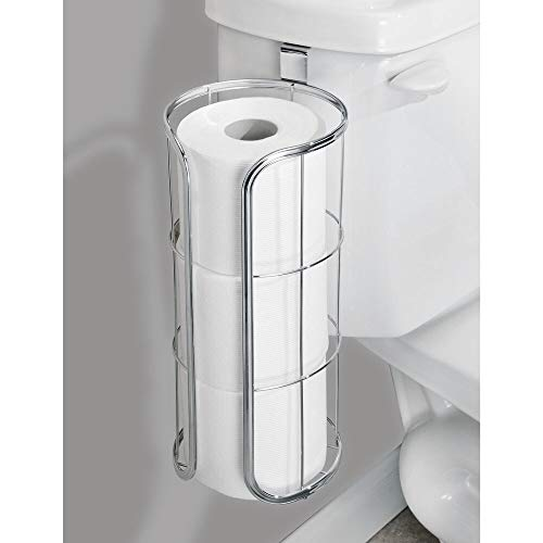 Modern Over The Tank Hanging Toilet Tissue Paper Roll Holder and Reserve - BEAN Ultra