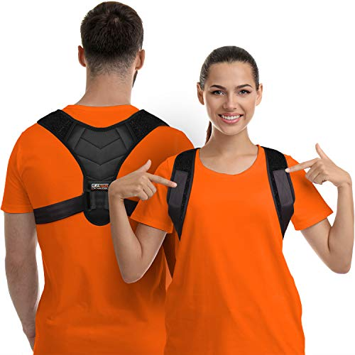 Posture Corrector For Men And Women, Upper Back Brace For Clavicle Support, Adjustable Back Straightener, Pain Relief - BEAN Ultra