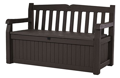 70 Gallon Storage Bench Deck Box for Patio Furniture, Front Porch Decor and Outdoor Seating - BEAN Ultra