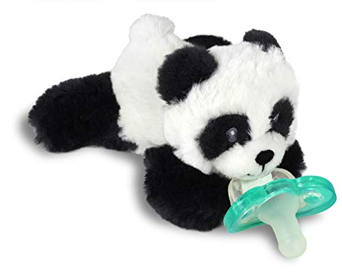 Pacifier Holder w/Removable Baby Pacifier - Panda - BEAN Ultra