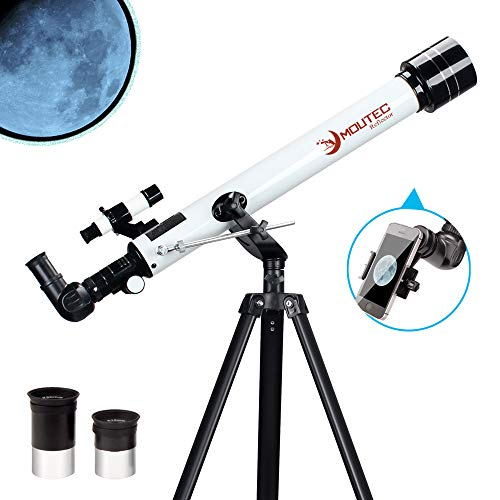 Telescope for Kids and Beginners, 700x60mm AZ Astronomical Refractor Telescope, Great Astronomy Gift for Kids - BEAN Ultra