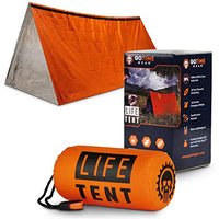 Go Time Gear Life Tent Emergency Survival Shelter – 2 Person Emergency Tent – Use As Survival Tent - BEAN Ultra