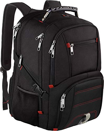 Travel Laptop Backpack, Extra Large Capacity TSA Friendly Anti Theft Backpacks with USB Charging Port, Water-Resistant - BEAN Ultra