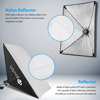 Softbox Lighting Kit Professional Studio Photography Continuous Equipment with 85W 5500K E27 Socket Light - BEAN Ultra