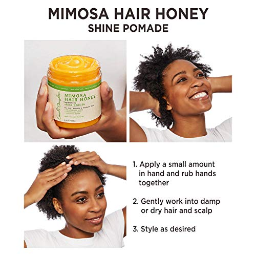 Carol's Daughter Mimosa Hair Honey Shine Pomade For Dry Hair and Textured Hair, with Shea Butter - BEAN Ultra