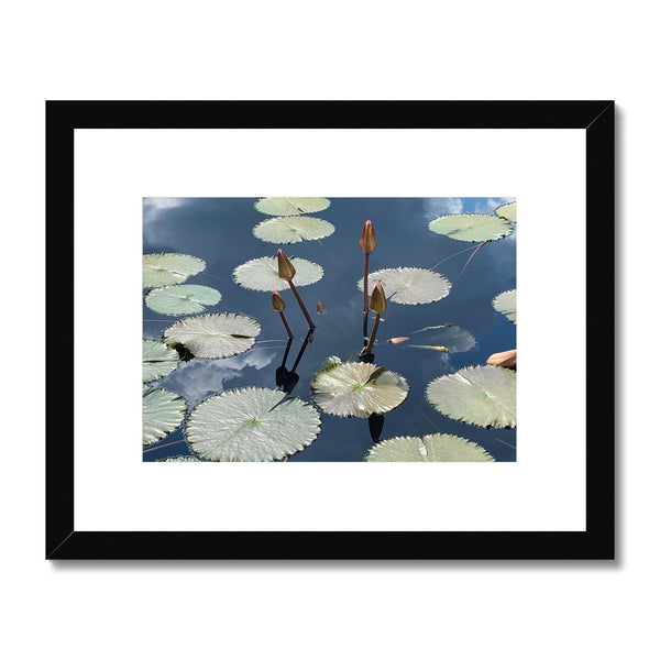 The Pond Framed & Mounted Wall Art Print - BEAN Ultra