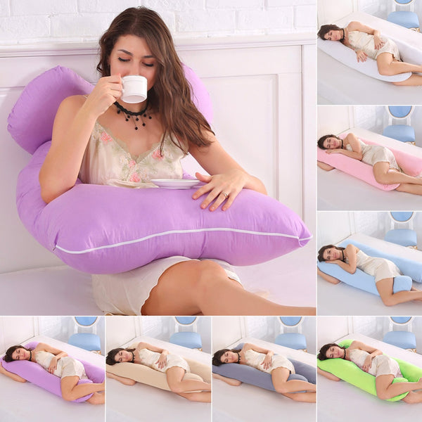 Pregnancy Pillow U Shaped | Maternity & Full Body Support Pillow - BEAN Ultra