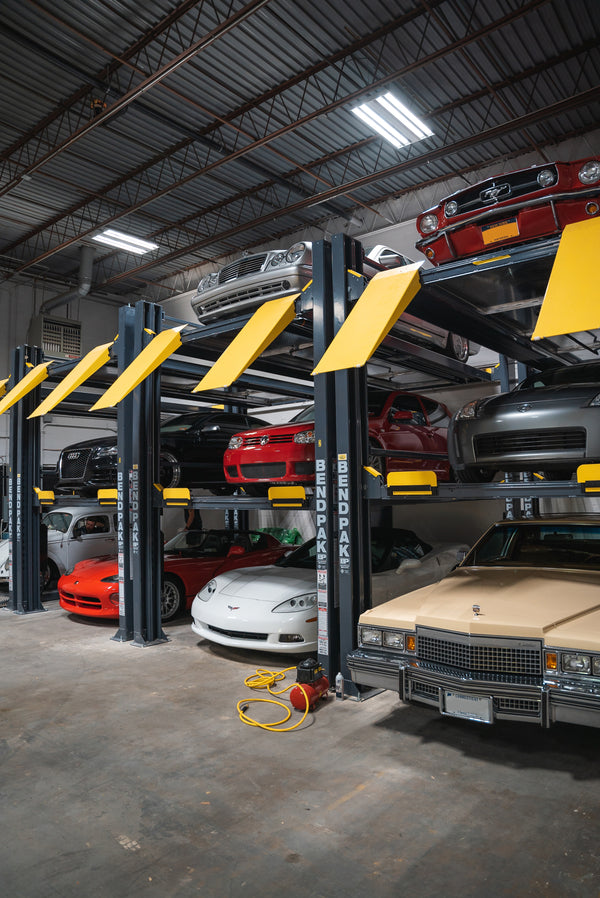 Two Vehicle Storage Spaces