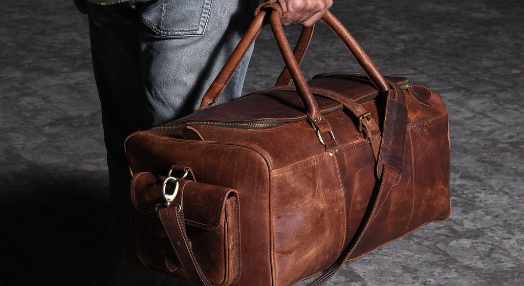 Leather goods for men