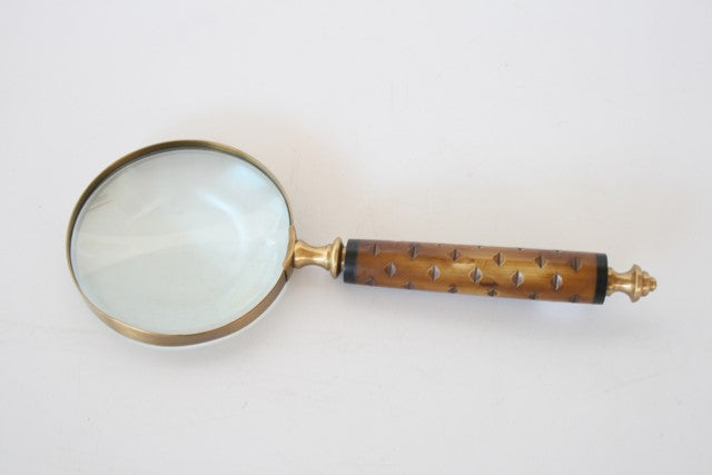 Magnifying Glass Engraved Handle