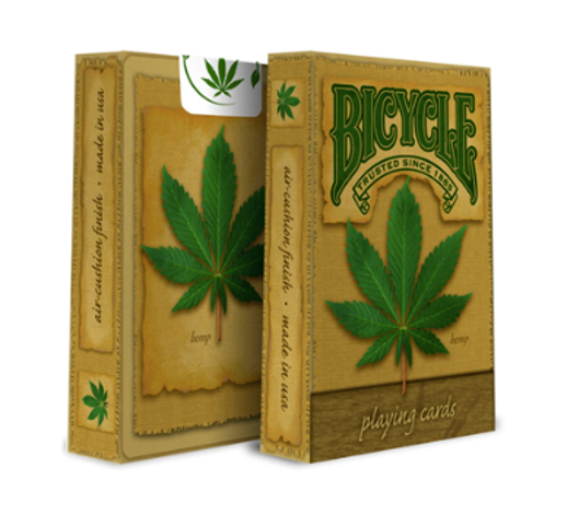 Bicycle Cards with Hemp design