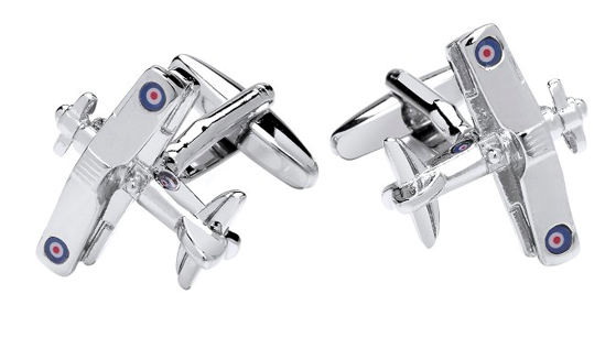 Gaventa Novelty cufflinks  biplane