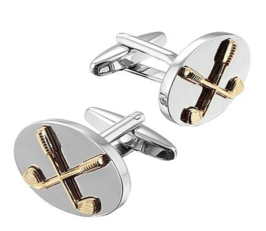 Gaventa Novelty cufflinks Golf