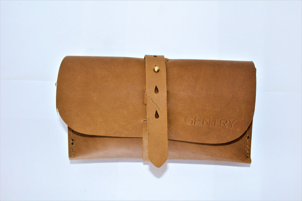 Gentry Roll Up Leather  With Pouch