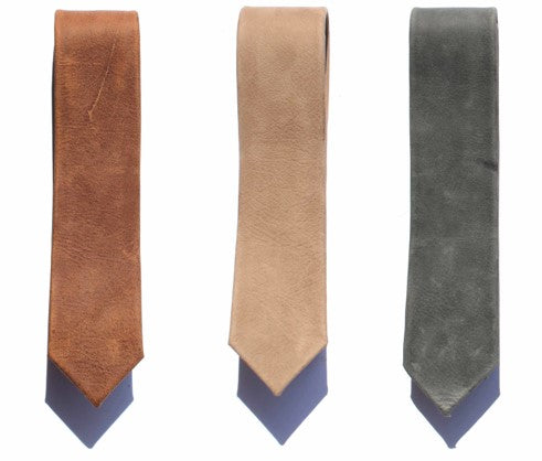 Major john leather ties