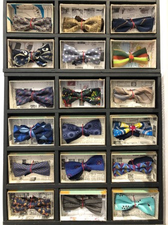 A Selection of Bow Ties in a variety of designs