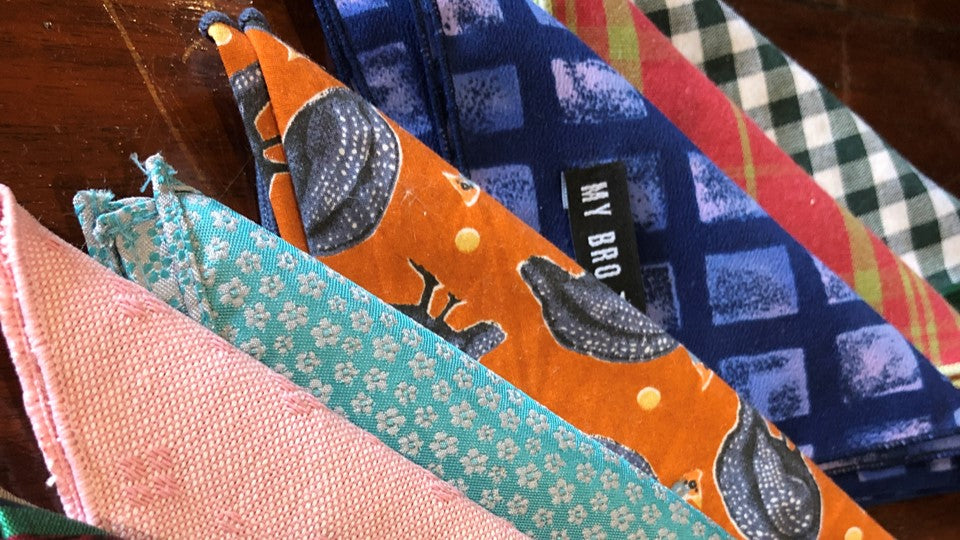 A variety of colours bow ties
