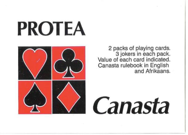 Protea Canasta Card set