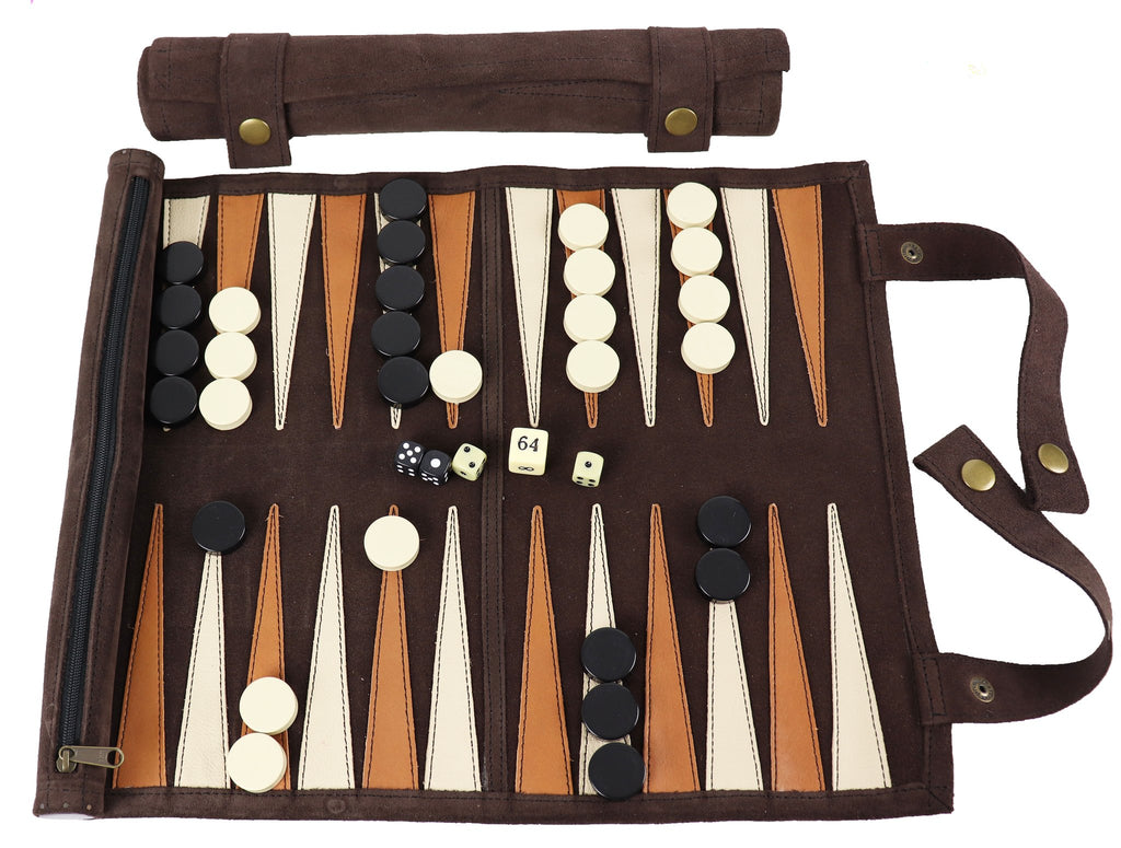 Rollup Backgammon Set