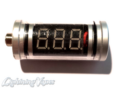 Assembled Volt Indicator Inline Meter - Clear