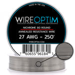 Nichrome Series 80 Resistance Wire (Odd Gauges)